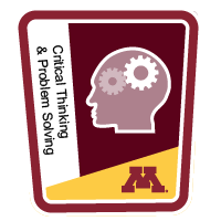 Critical Thinking and Problem Solving Badge