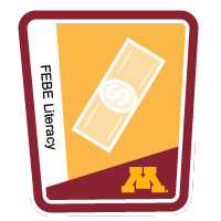 Financial, Business, Managerial, and Entrepreneurial Literacy (FEBE) badge